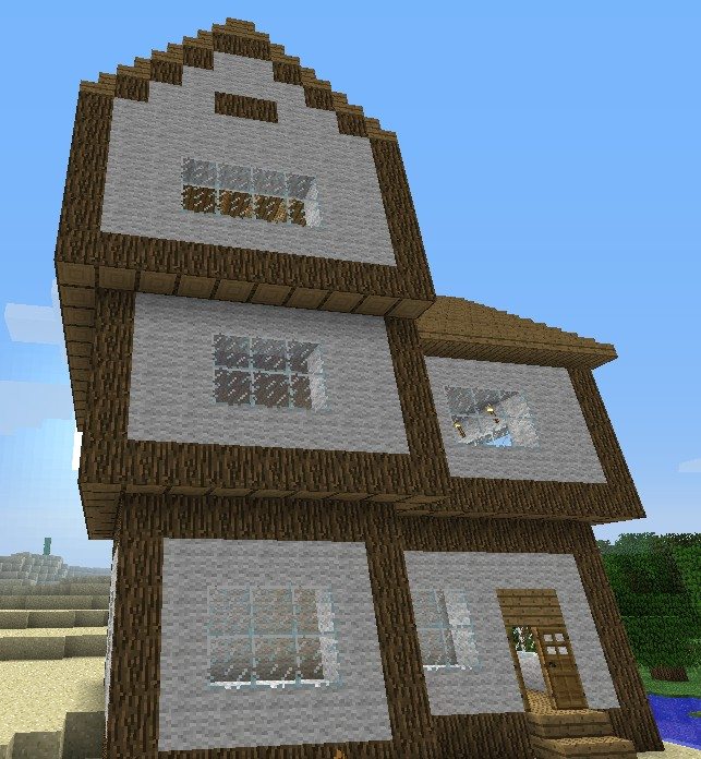 House ideas three cool awesome house minecraft project for Awesome house blueprints