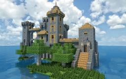 Isolated Island Fort Minecraft