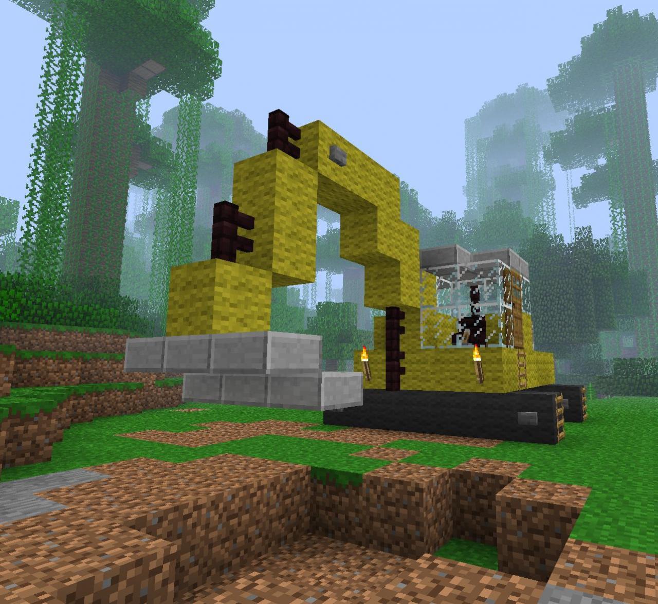 minecraft digging machine