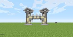 Casle Gate Minecraft Map & Project
