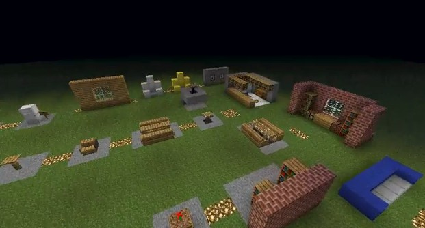 How To Make Cool Furniture Decoration And Other Stuff Minecraft Project