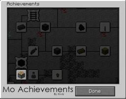 Mo Achievements Mod (1.3.1) (ModLoader) (28 Added So Far) Minecraft Mod