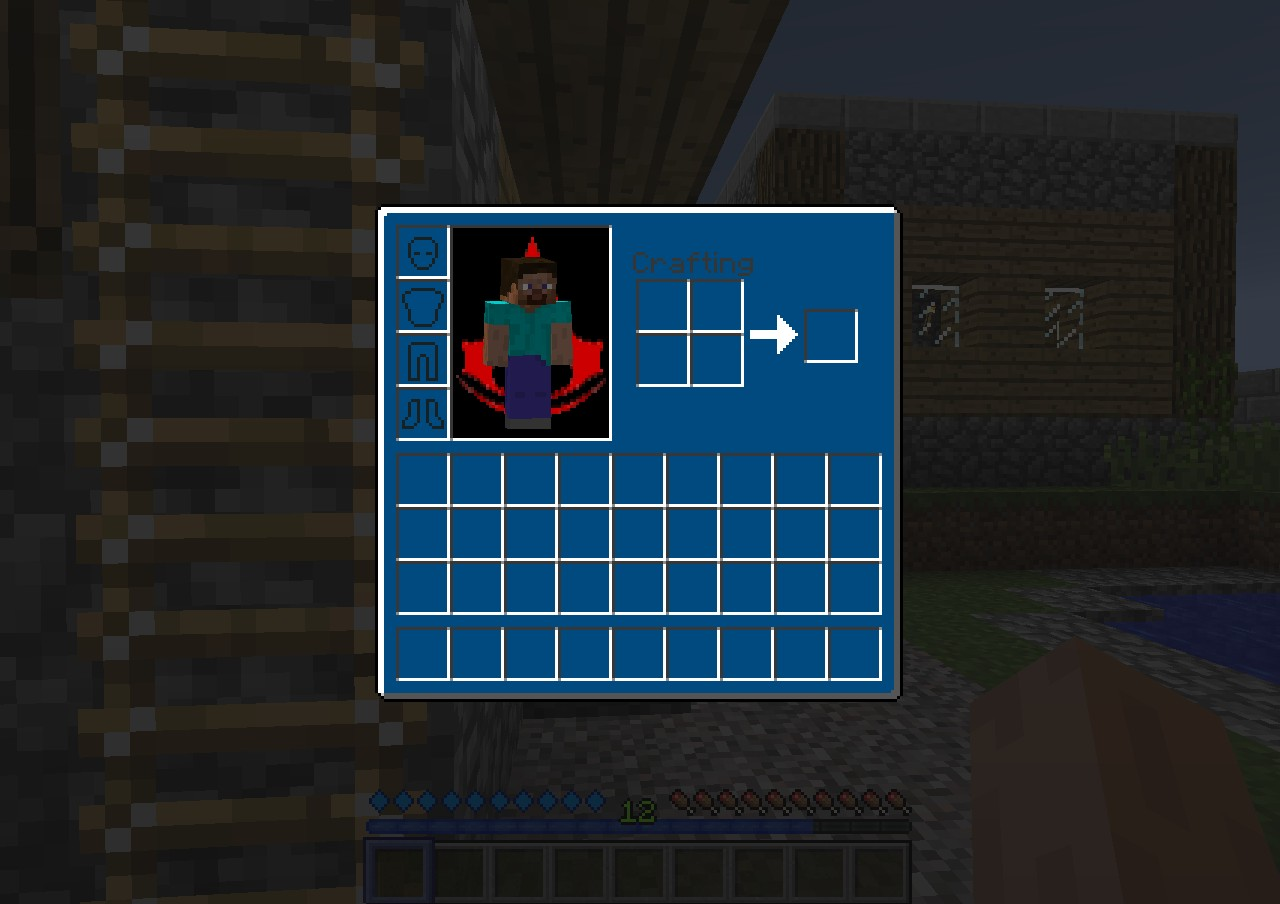 Inventory colour has been changed to a more darker blue and all menus in GUI