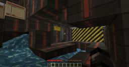 The Dark Sci-fi adventure Minecraft Map & Project