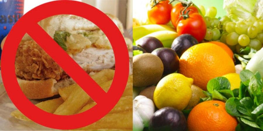 junk vs healthy food minecraft blog. Black Bedroom Furniture Sets. Home Design Ideas