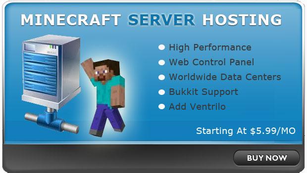Лучший хостинг Minecraft серверов - Eve-Hosting.ru