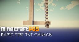 Rapid Fire TNT Cannon - Zed Cannon 7500 - Minecraft Minecraft