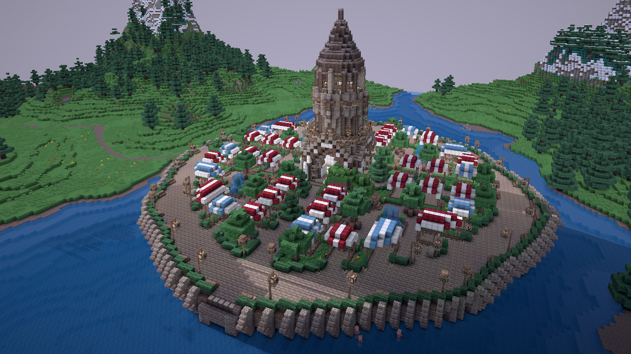 The Spawn Minecraft Project