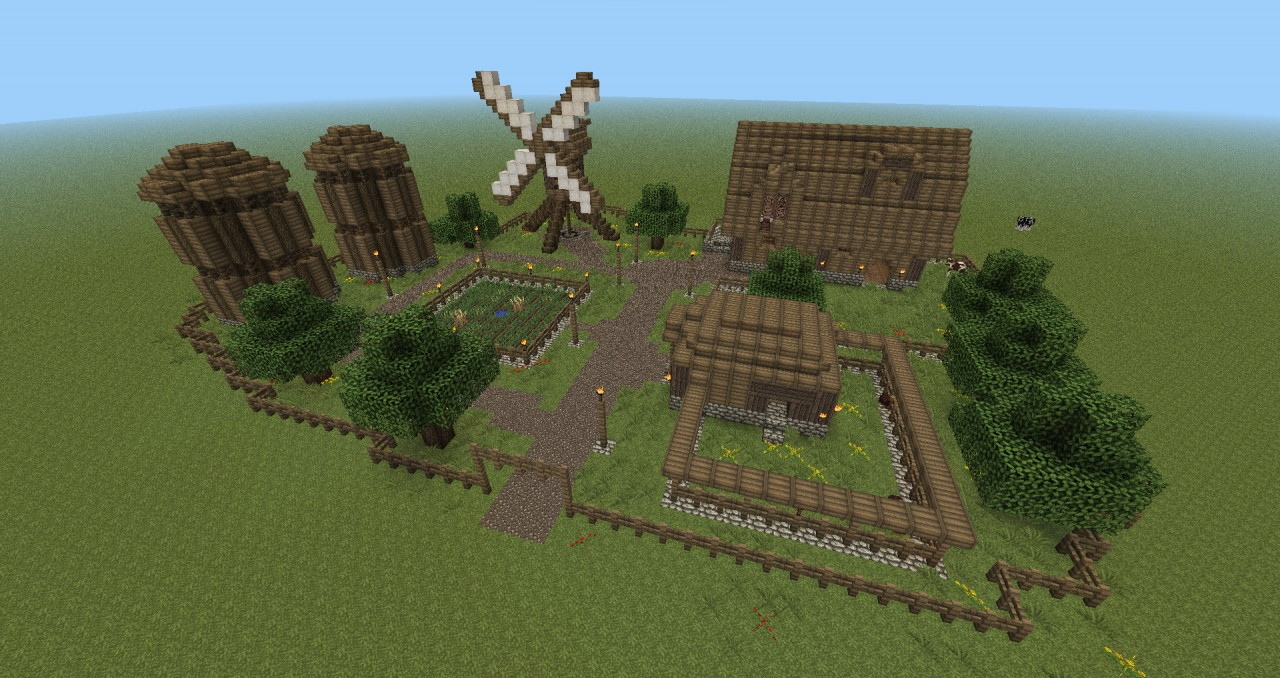 Farm Pack Minecraft Project