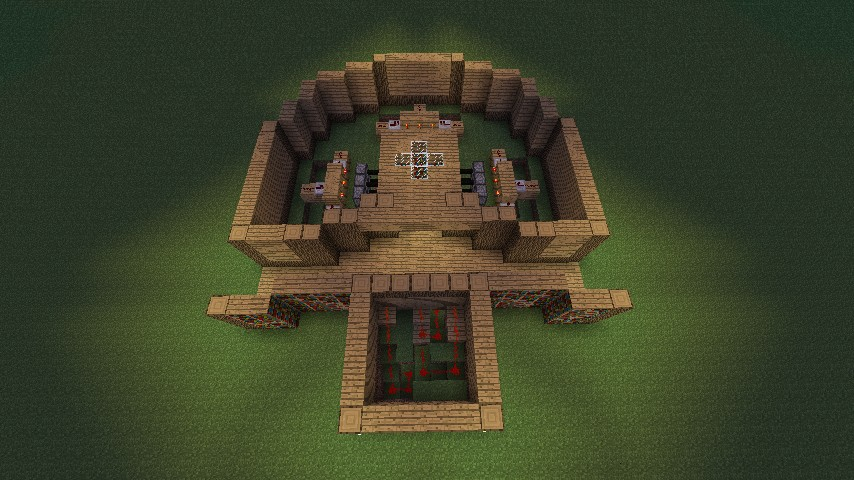 Programmable Enchantment Table Minecraft Project