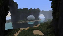 Karego Isles - Custom Terrain - Tropical Island - [DOWNLOAD] - Subsribers Special Minecraft Map & Project