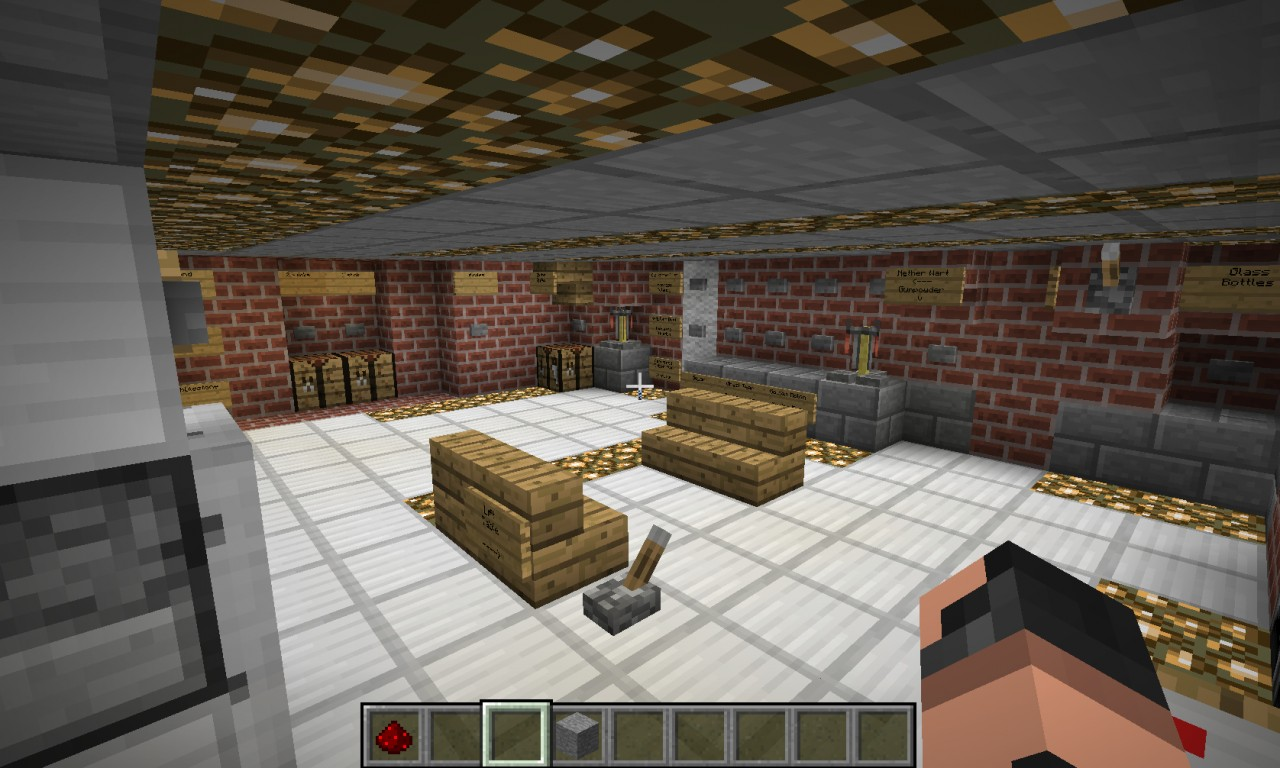 Hi Tech House Working Bathroom And Kitchen Minecraft
