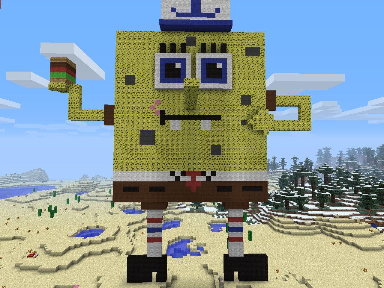 Spongebob  Minecraft Project