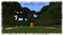 Ender Golf (Real Golf but in Minecraft) Minecraft Map & Project