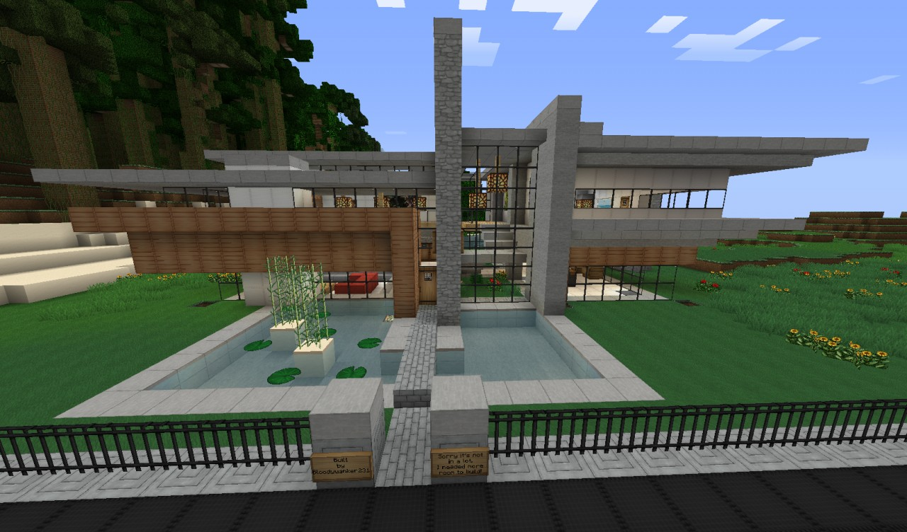 The red wood house word of keralis server minecraft project for Modern house keralis