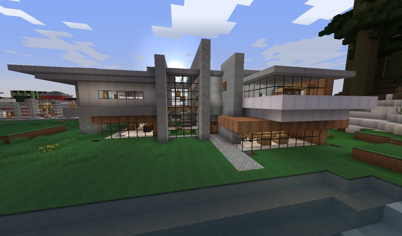the red wood house word of keralis server minecraft project