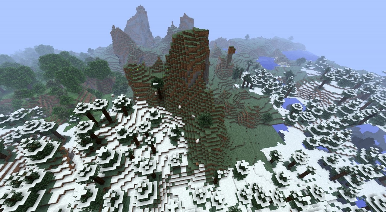Mountain Castle High Minecraft Project