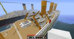 H.M.H.S. Britannic Minecraft Map & Project