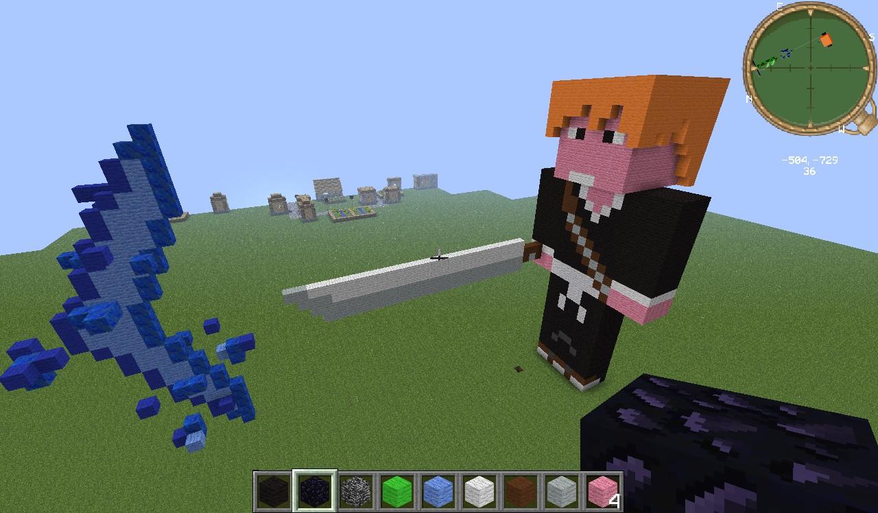 Some Bleach Shit Minecraft Map