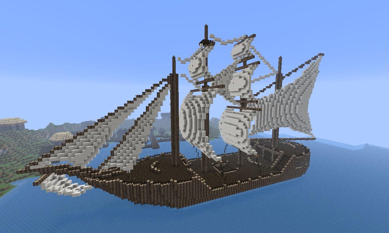 майнкрафт 0.13.1 карта пиратский корабль #6