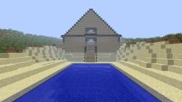 Wooden Massion / Temple Minecraft Map & Project