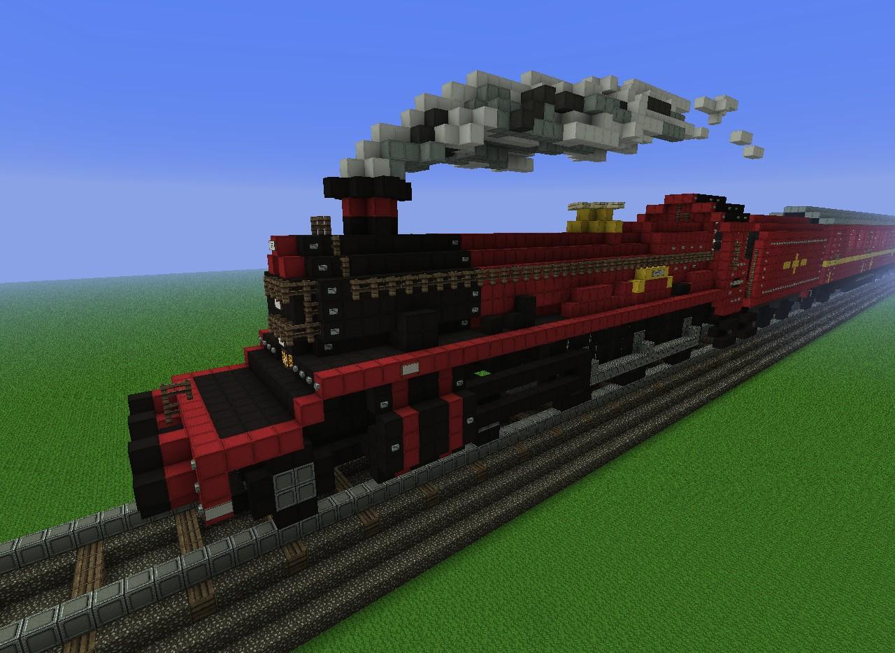 Hogwarts Express Minecraft Project