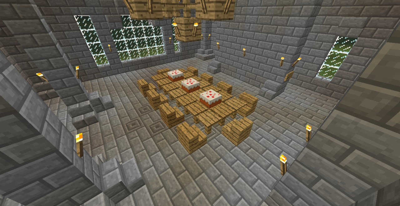 The Great Stone Temple Minecraft Project