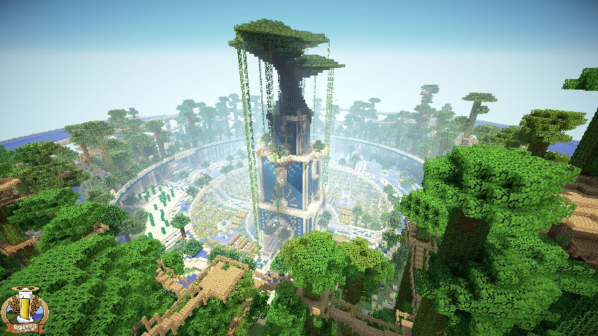 Babylon hanging garden minecraft project for When was the hanging gardens of babylon destroyed