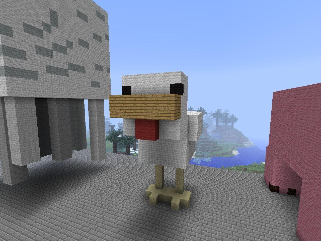Spider Statue Minecraft Mob Statue Minecraft P...