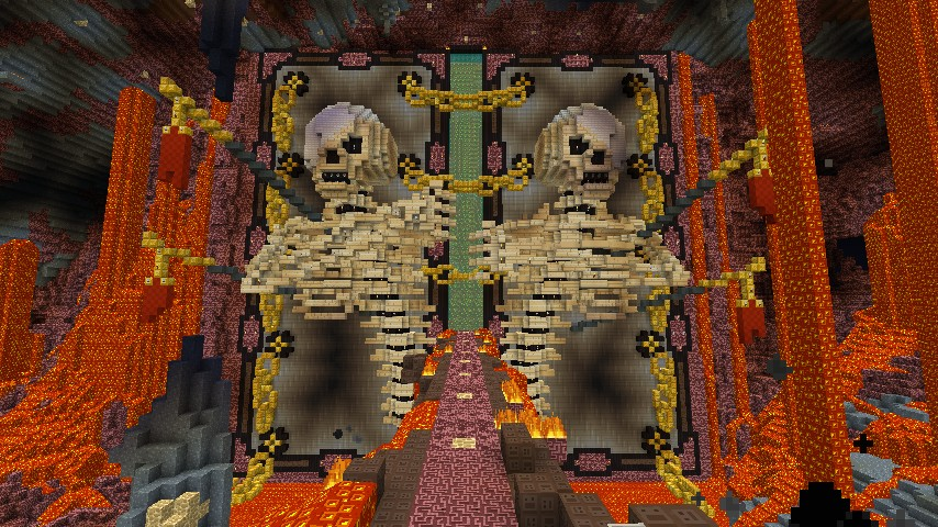 Bleach - Hell\u0027s Gate & Bleach - Hell\u0027s Gate Minecraft Project