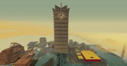 Large Tower Minecraft Map & Project