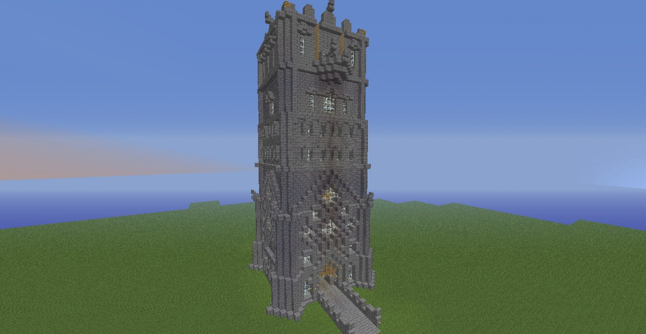 The Great Stone Tower Minecraft Project