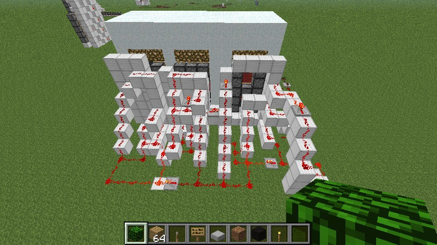 how to make a working piston in minecraft