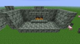 Toggleable Fireplace Minecraft Map & Project