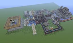 Center of an Unnamed City (Abandoned) Minecraft Map & Project