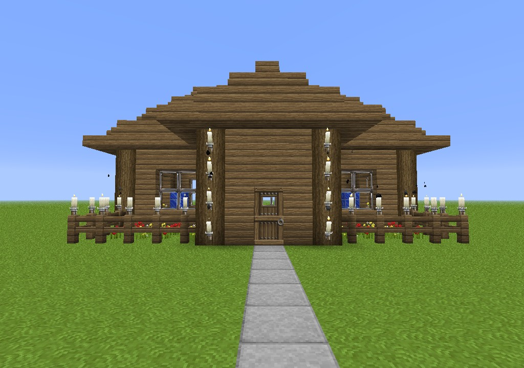 how to make a simple house in minecraft for beginners