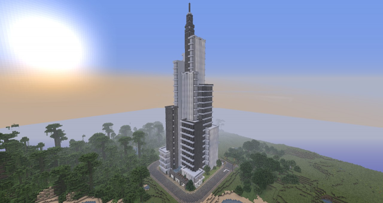 how to build a minecraft skyscraper
