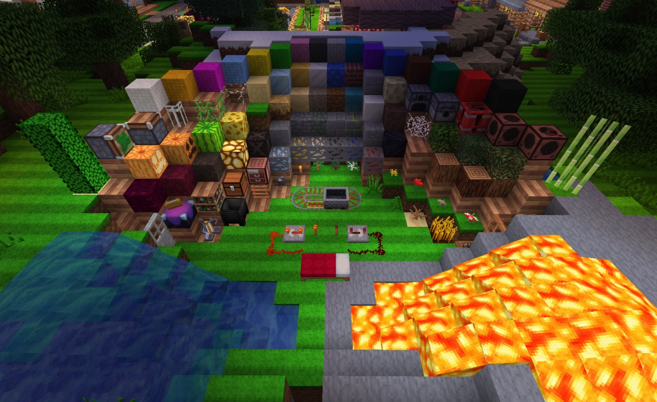Текстур паки Minecraft 1.5.2 - скачать, большой выбор