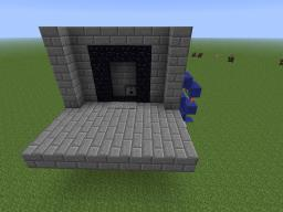 Toggleable Portal Minecraft Map & Project