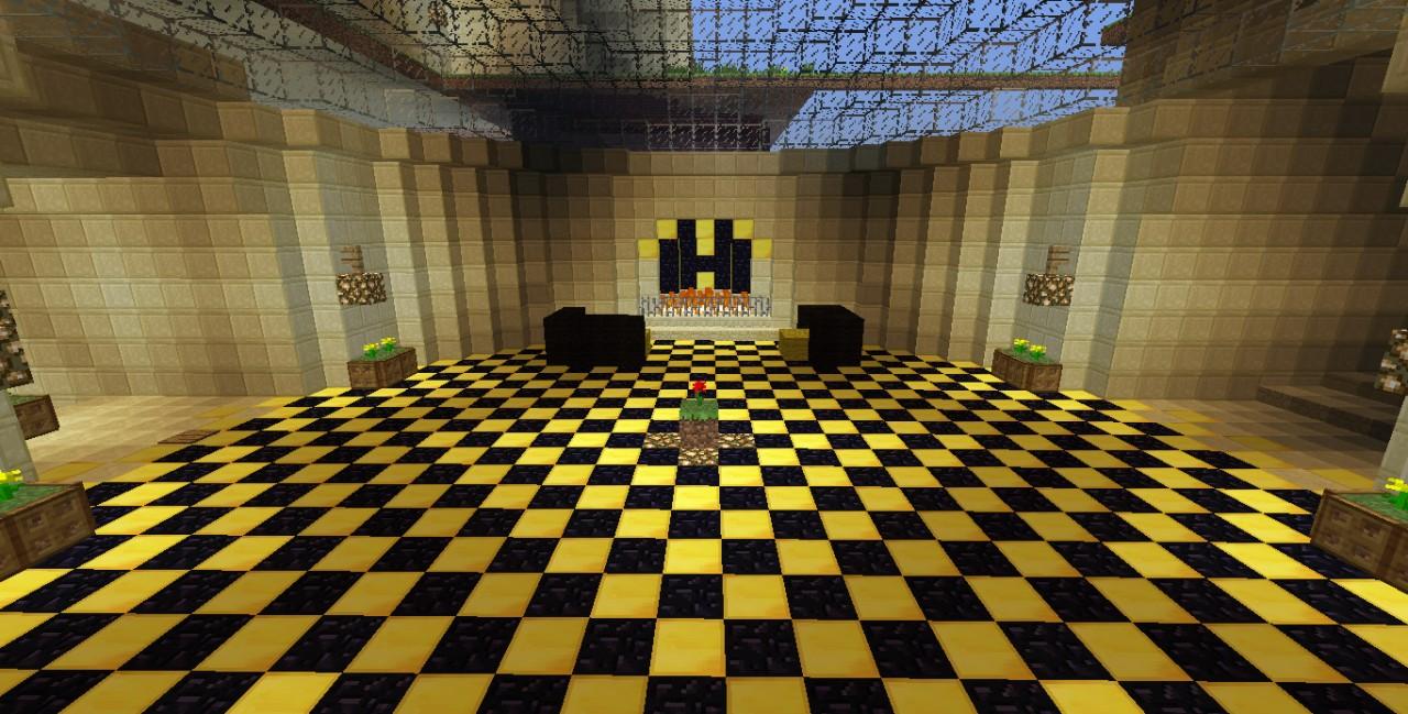 Gryffindor Common Room Minecraft Build Minecraft Project