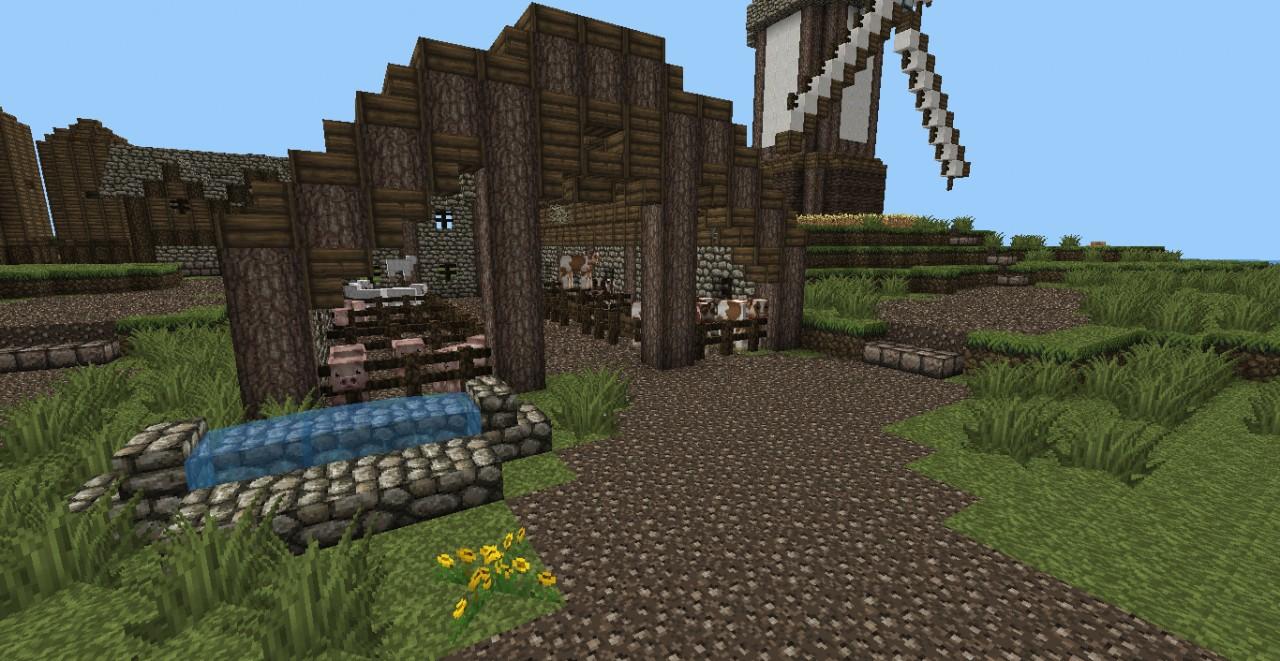 Medieval Barn Minecraft Project for Medieval Barn Minecraft  193tgx