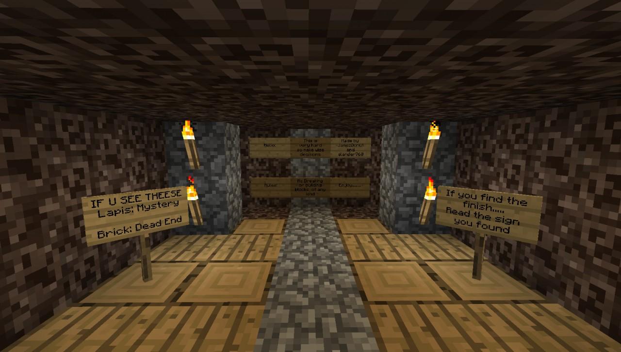 Hardest Maze Ever Minecraft Project