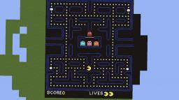 Pacman Pixel Art (Full level) Minecraft Map & Project