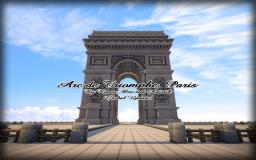 Arc de Triomphe, Paris (1:1) Minecraft