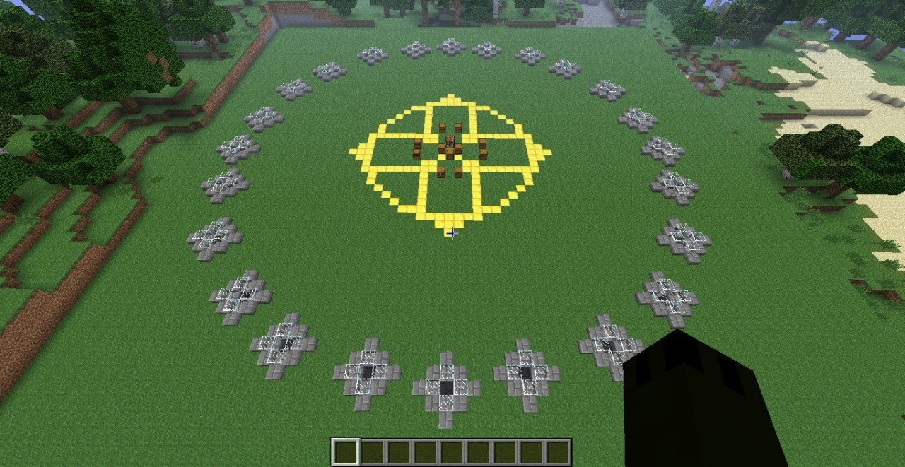 The Hunger Games Map Minecraft Project