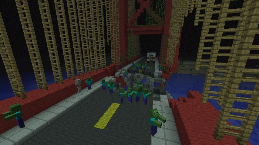 ZOMBIE SURVIVAL MAP NEED HELP Minecraft Project