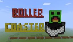 Epic Roller Coaster Updated!!!! Minecraft Map & Project