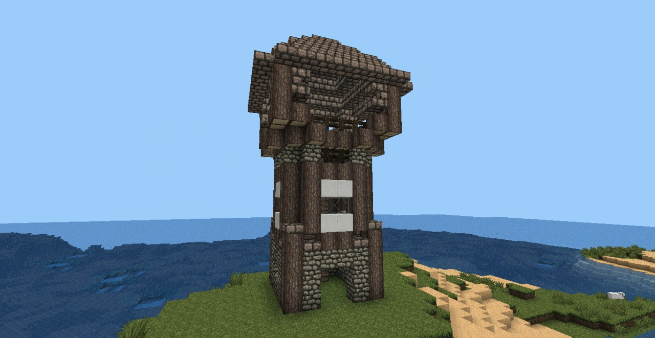 Medieval Watchtower Minecraft Project