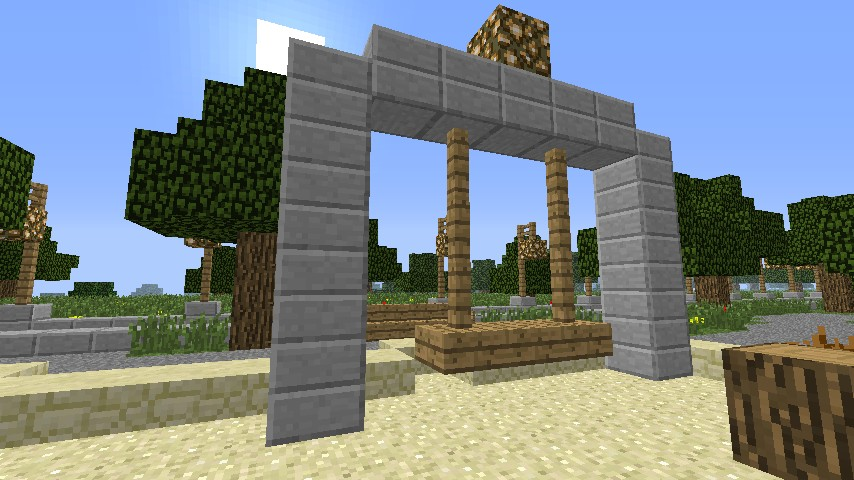 The City Park Minecraft Project