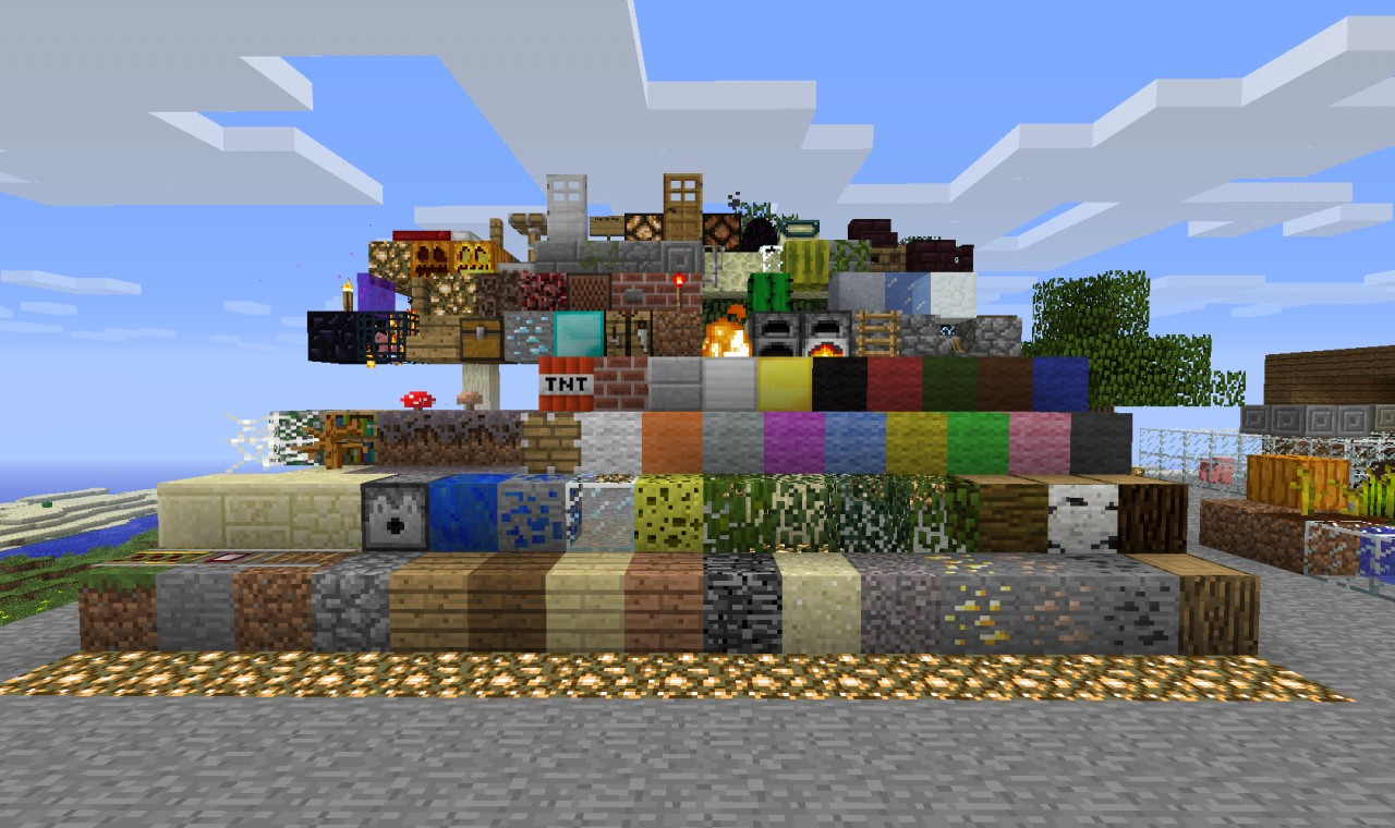 Texture pack Testing map Minecraft Map